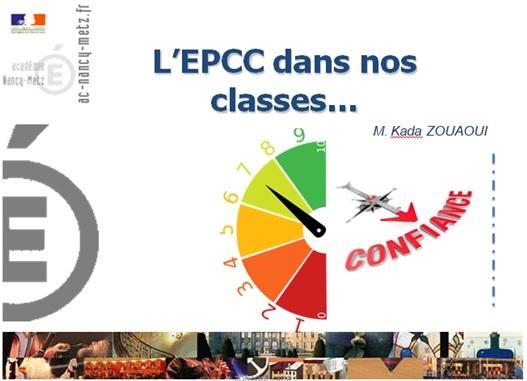 EPCC DANS NOS CLASSES